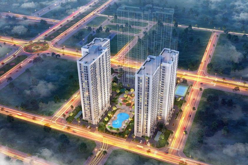Vingroup ra mắt 2 tòa căn hộ đầu tiên Dự án Vinhomes New Center - Hà Tĩnh