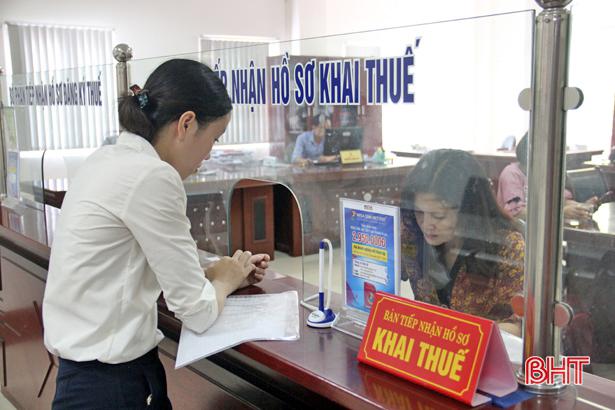 Ngành thuế Hà Tĩnh hành động vì doanh nghiệp