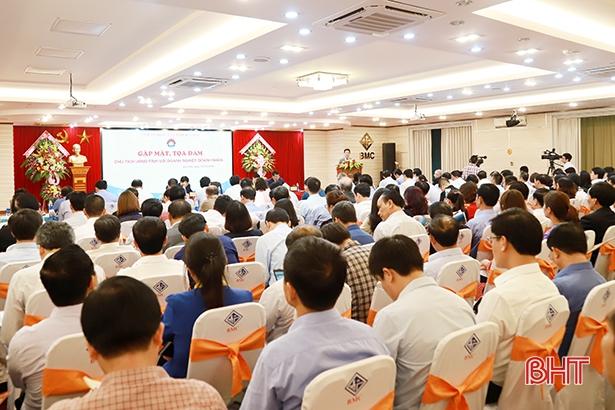 Hà Tĩnh: Doanh nghiệp nêu vướng mắc, chính quyền đồng hành giải quyết