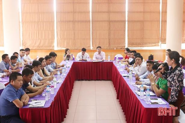 Doanh nhân thị xã Hồng Lĩnh kết nối, chia sẻ cơ hội khởi nghiệp