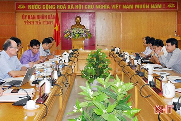 Doanh nghiệp Đức mong muốn hợp tác đầu tư dự án công nghệ cao tại Hà Tĩnh