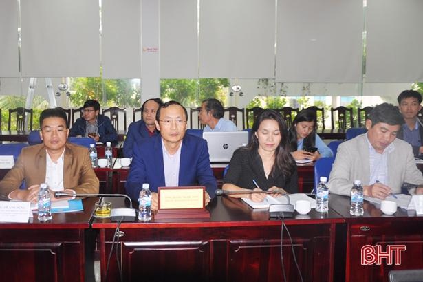 Hà Tĩnh cam kết đảm bảo tính bền vững của dự án IWMC