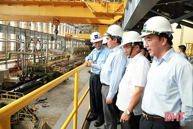 200 doanh nghiệp tìm kiếm cơ hội đầu tư lĩnh vực gang thép tại Hà Tĩnh