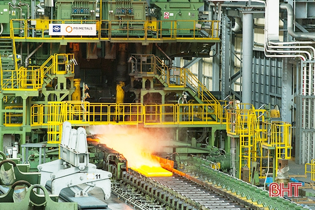 Công nghiệp chế biến - chế tạo của Hà Tĩnh tiếp tục tăng trưởng mạnh mẽ