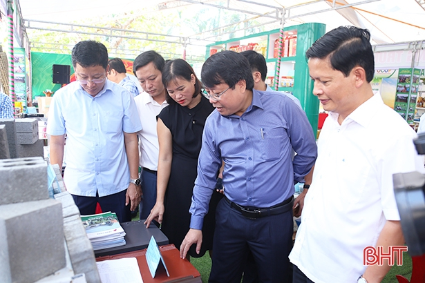 Hà Tĩnh có 32 sản phẩm công nghiệp nông thôn tiêu biểu cấp tỉnh năm 2019