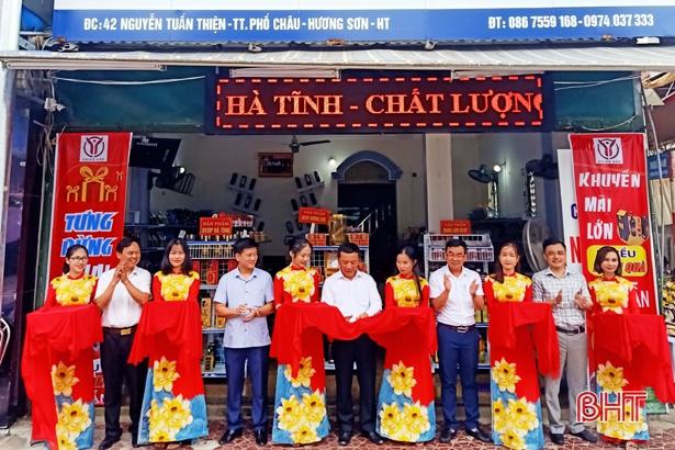 Khai trương cửa hàng sản phẩm OCOP tại Hương Sơn