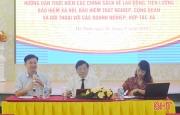 Tháo gỡ vướng mắc về chính sách bảo hiểm, lao động cho doanh nghiệp, HTX ở Hà Tĩnh