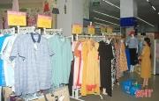 Doanh thu bán lẻ hàng hóa trên địa bàn Hà Tĩnh tăng hơn 43,3% so với tháng trước