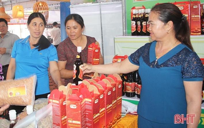 20 sản phẩm công nghiệp nông thôn Hà Tĩnh tham gia bình...